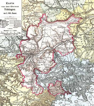 Landkreis Tubingen Orientierungsraume